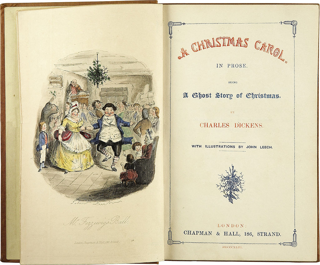 A Christmas Carol, the first edition