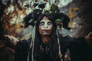 Forest witch by Nerium Oleanders