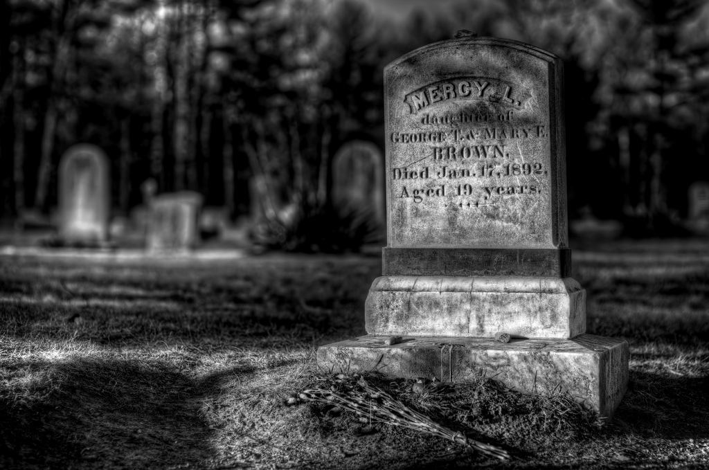 Mercy Brown Grave
