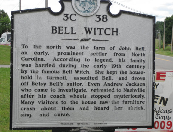 Bell Witch Sign